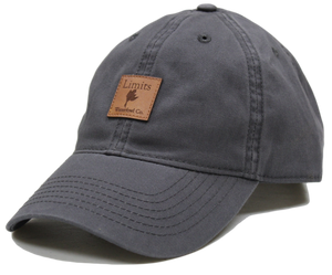 Dark Grey Dad Hat-hat-Limits Waterfowl Co.-Limits Waterfowl Co.
