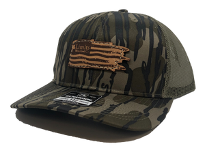 Flag Trucker-Bottomland-hat-Limits Waterfowl Co.-Limits Waterfowl Co.