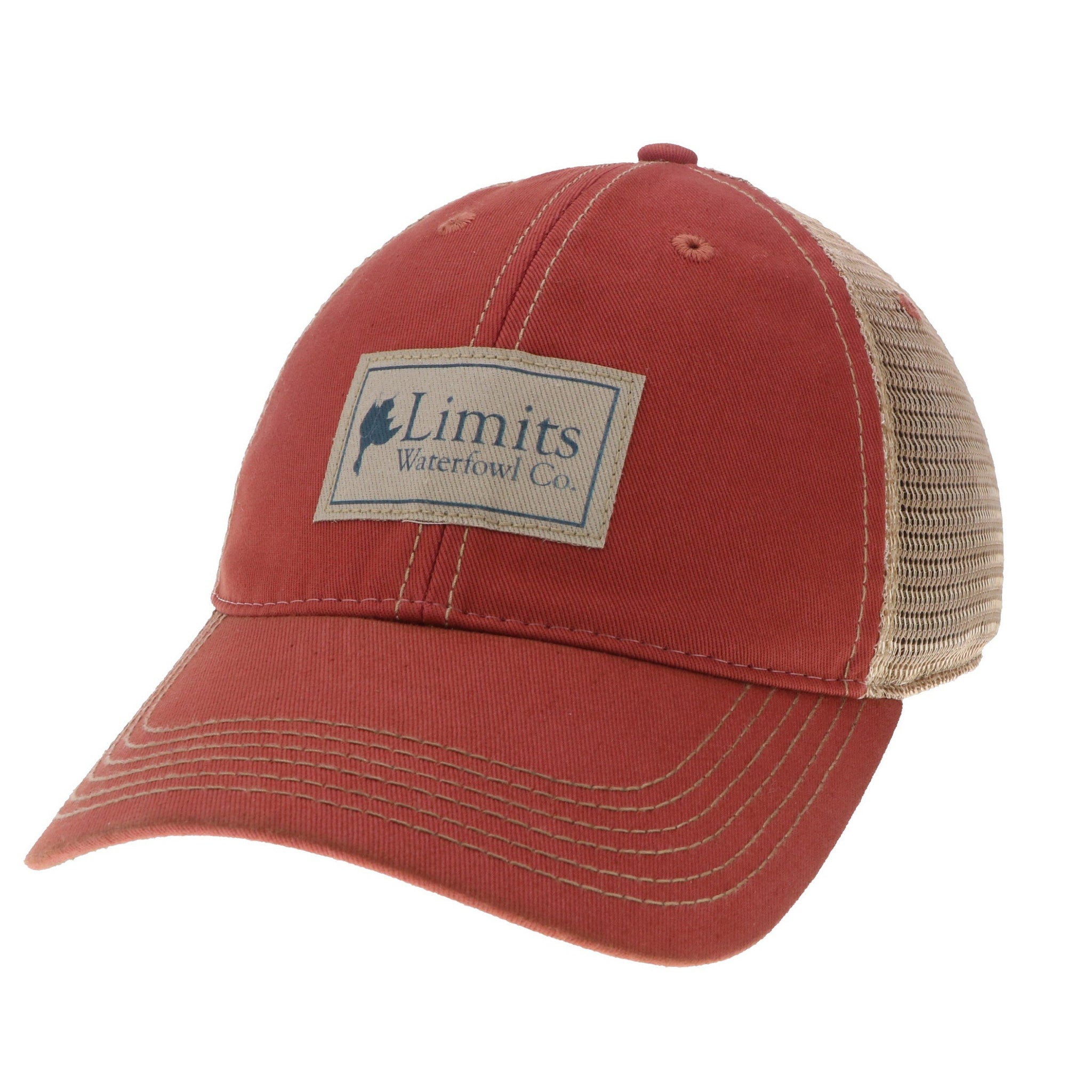 Nantucket Twill Patch Trucker-hat-Limits Waterfowl Co.-Limits Waterfowl Co. aa8501af579