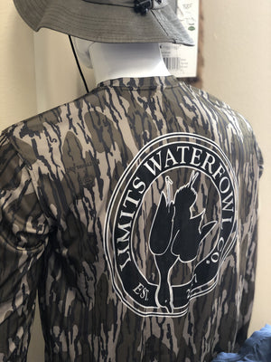 Performance Bottomland Lightweight Longsleeve Shirt-shirt-Limits Waterfowl Co.-Limits Waterfowl Co.