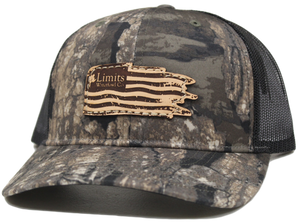 Realtree Timber Trucker Hat-hat-Limits Waterfowl Co.-Realtree Timber/Black-Limits Waterfowl Co.