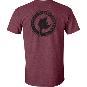 Signature Logo Tee(Multiple Color Options-shirt-Limits Waterfowl Co.-Small-Heather Maroon-Limits Waterfowl Co.