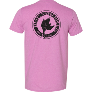 Signature Logo Tee(Multiple Color Options-shirt-Limits Waterfowl Co.-Small-Radiant Orchid-Limits Waterfowl Co.