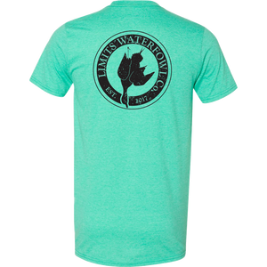 Signature Logo Tee(Multiple Color Options-shirt-Limits Waterfowl Co.-Small-Seafoam-Limits Waterfowl Co.