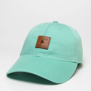 Woman's Relaxed Twill Hat-hat-Limits Waterfowl Co.-Spearmint-Limits Waterfowl Co.