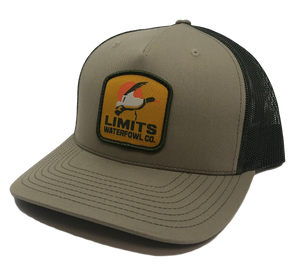 Woven Vintage Mallard-hat-Limits Waterfowl Co.-Limits Waterfowl Co.