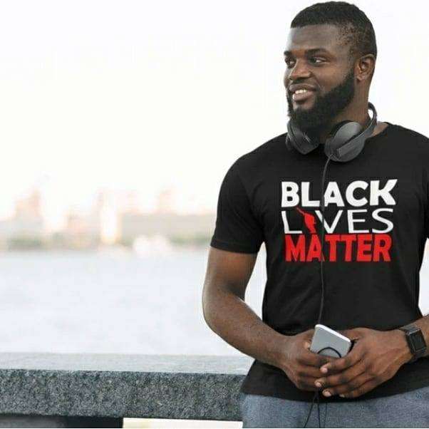 Men's Black Lives Matter T Shirt