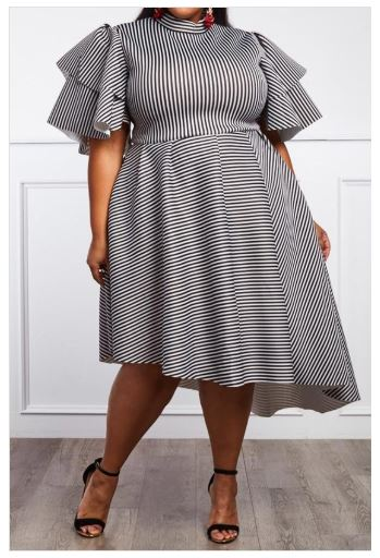 Abby Puffy Sleeve Dress