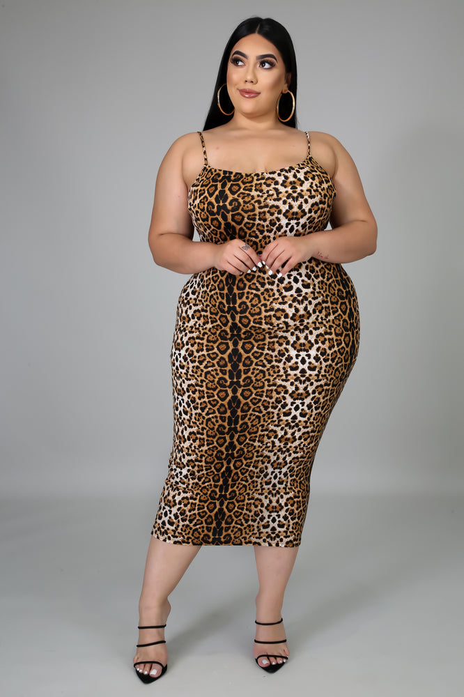 Leopard Stretch Dress