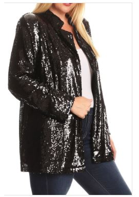 Aerostotle Sequin Jacket