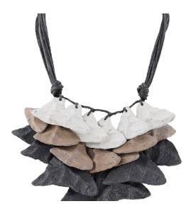 Triangle Recycled Necklace