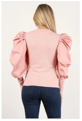 Puff Sleeved Top