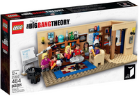 The Big Bang Theory,  21302, lego ideas,