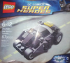 Lego DC The Batman, batmobile, Tumbler, polybag.