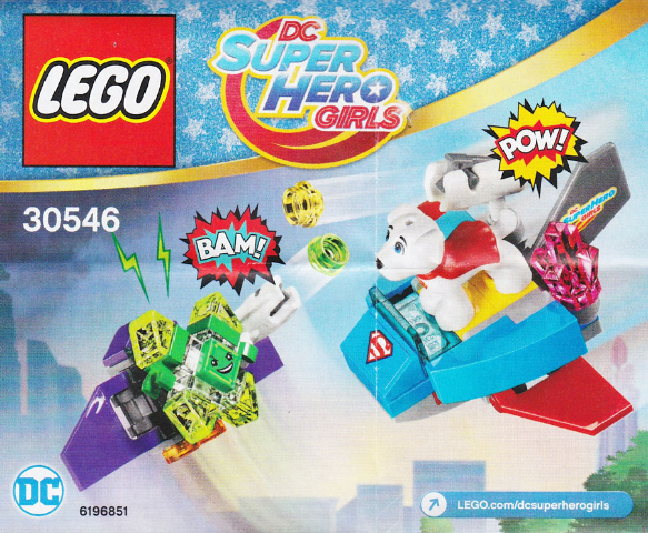 Lego Krypto saves the day polybag, 30546 DC Super Hero Girls