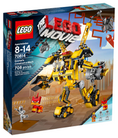 The Lego Movie, 70814, Emmet's Construct - o - Mech,