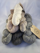"Signature Blend - ""Halsey"" - Romney/alpaca/silk 200 yards - Sport/DK Weight"