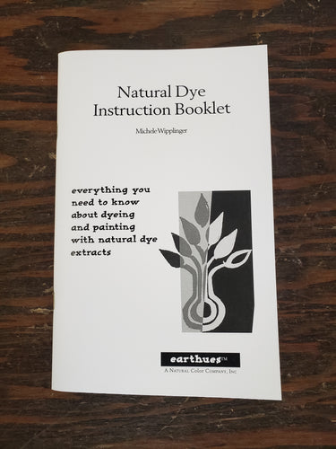 Natural Dye Instruction Booklet