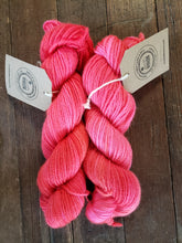 "Hand-dyed Signature Blend - ""Halsey"" - Romney/alpaca/silk 200 yards - DK Weight"