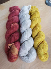 Ewethful's Shetland/Pygora yarn - Fingering weight