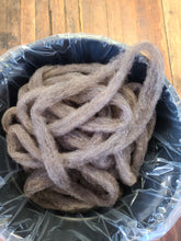 Jacob wool/alpaca blend roving - Whole fleece