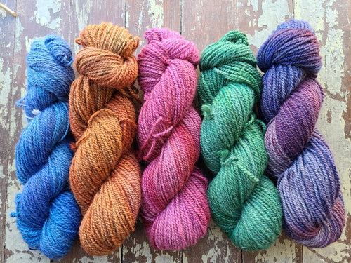 Jacob Wool yarn - Worsted Weight