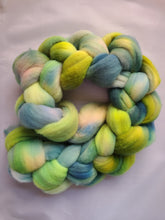 Hand-dyed 21 Micron Wool Top