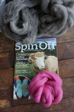 Thrum Mitten Kits with Spin Off Magazine