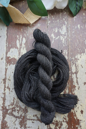 Shetland Black - Fingering Weight