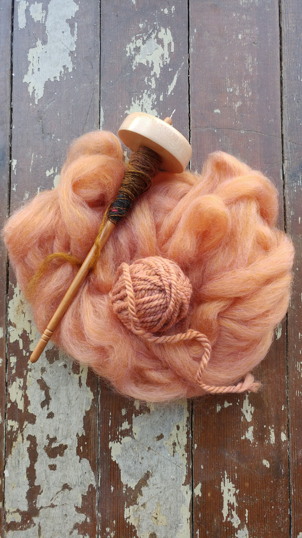 LEARN TO MAKE YARN ON A DROP SPINDLE, TBD