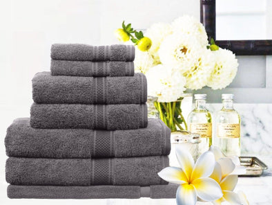 LUXURY 100% EGYPTIAN COTTON 7 PIECES TOWEL SET