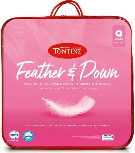TONTINE FEATHER & DOWN QUILT - Next Linen