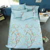 400 THREAD COUNT 100% COTTON PRINTED QUILT COVER SET WITH PILLOW CASES