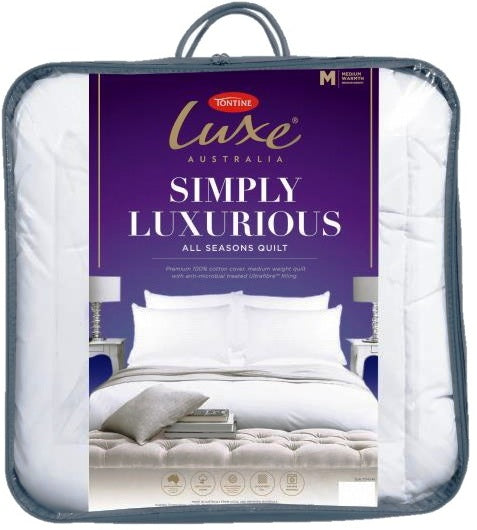 TONTINE LUXE SIMPLY LUXURIOUS QUILT