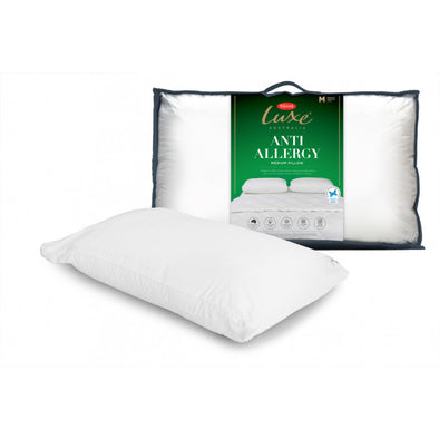 TONTINE LUXE ANTI ALLERGY PILLOW MEDIUM - Next Linen