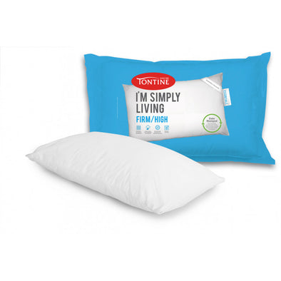 TONTINE I'M SIMPLY LIVING FIRM PILLOWS X 2 - Next Linen