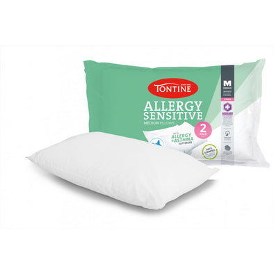 TONTINE ANTI ALLERGY MEDIUM PILLOW X 2