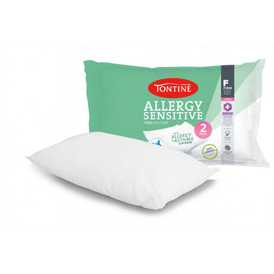 TONTINE ANTI ALLERGY FIRM PILLOW X 2 - Next Linen