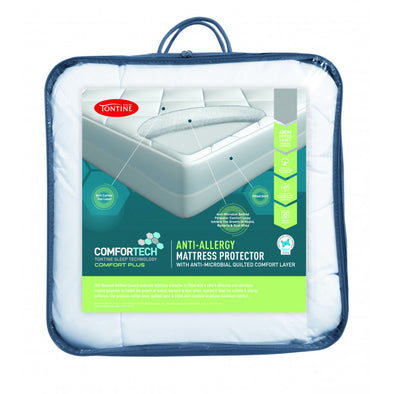 TONTINE COMFORTECH ANTI ALLERGY FITTED MATTRESS PROTECTOR