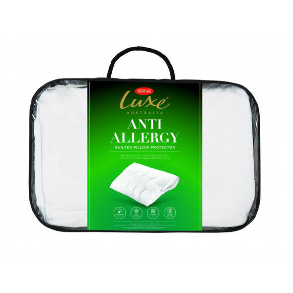 TONTINE LUXE ANTI ALLERGY PILLOW PROTECTOR