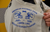 FOOTBALL JERSEY 1991 CHINA GAME