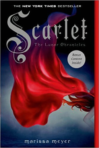 M. Meyer - SCARLET: LUNAR CHRONICLES - SIGNED Paperback