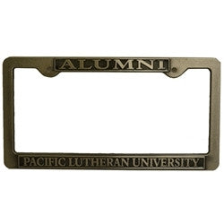 HEAVY DUTY PEWTER LICENSE PLATE FRAME
