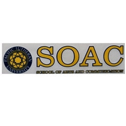 SOAC SCHOOL OF ARTS DECAL