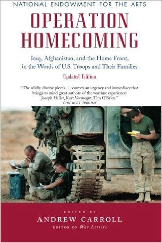 OPERATION HOMECOMING: IRAQ AFGHANISTAN - Paperback