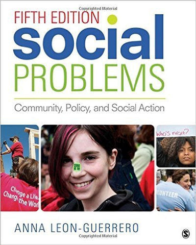 A.Y. Leon-Guerrero - SOCIAL PROBLEMS: COMMUNITY, POLICY, AND SOCIAL ACTION - Paperback