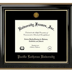 DIPLOMA FRAME CLASSIC EBONY WITH MEDALLION 8.5X11