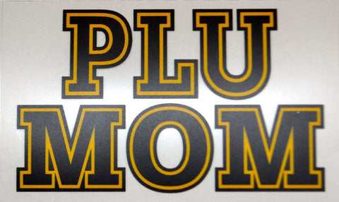 PLU MOM DECAL