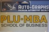 SCHOOL OF BUSINESS MBA DECAL