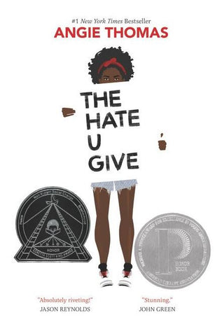 THE HATE U GIVE BY ANGIE THOMAS - HARDCOVER